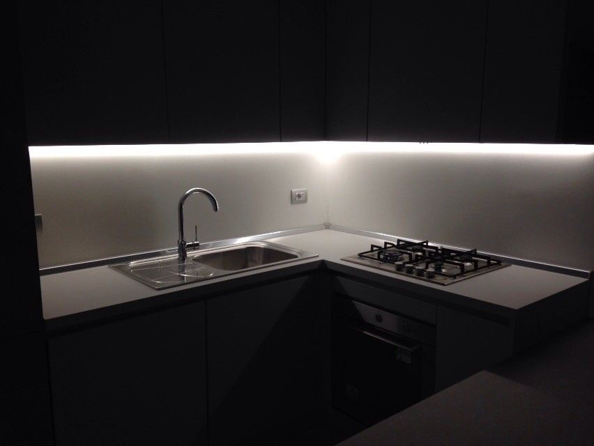 luci led sottopensile cucina aster