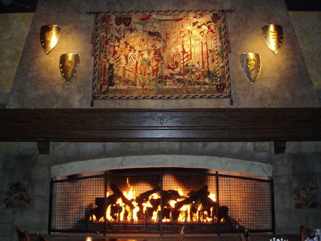 Medieval Fireplace Walnut House Medieval Houses