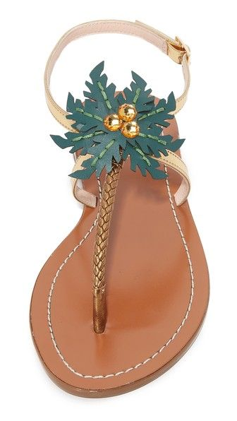 eb3079aab3c5 Kate Spade Solana Palm Tree Sandals