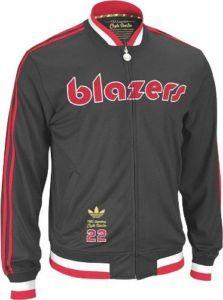 PORTLAND TRAIL BLAZERS Clyde Drexler NBA Legends Game Jacket XL ... 47b52e1a8