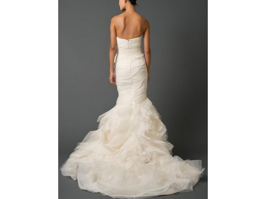 used wedding dresses Vera Wang Gemma 3 Size 14 Used Wedding Dresses