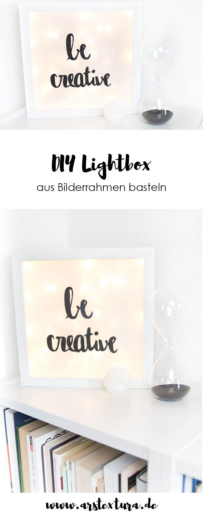 eine kleine diy lightbox kinder geburtstag pinterest. Black Bedroom Furniture Sets. Home Design Ideas