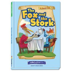 The Fox and the Stork - Hardcover book from ABCmouse.com. 5 years & up, 28 pages.   A fox plays a trick on his friend the stork and finds it very funny — until the tables are turned. In the end, the two friends learn that you should treat others the way you would like them to treat you. This traditional children's story with striking full-color illustrations and descriptive language. With an age-appropriate glossary to support vocabulary development.