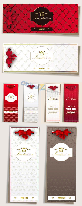 Elegant invitation card vector material vector concept lacy elegant invitation card vector material vector concept stopboris Image collections