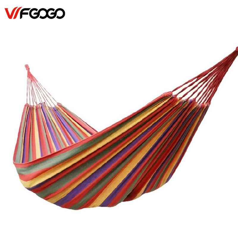 wfgogo big size hammock portable camping garden beach travel hammock outdoor ultralight colorful cotton polyester wfgogo big size hammock portable camping garden beach travel      rh   pinterest