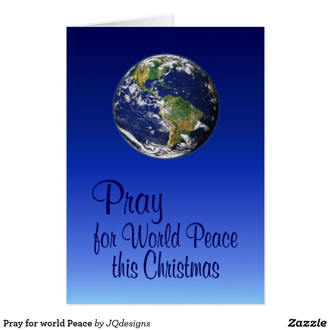 pray for world peace card httpshopnprizescompeace earth - Peace On Earth Christmas Cards
