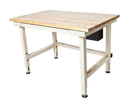 Adjustable Height Craft Table.Electric Adjustable Height Industrial Workbench Craft
