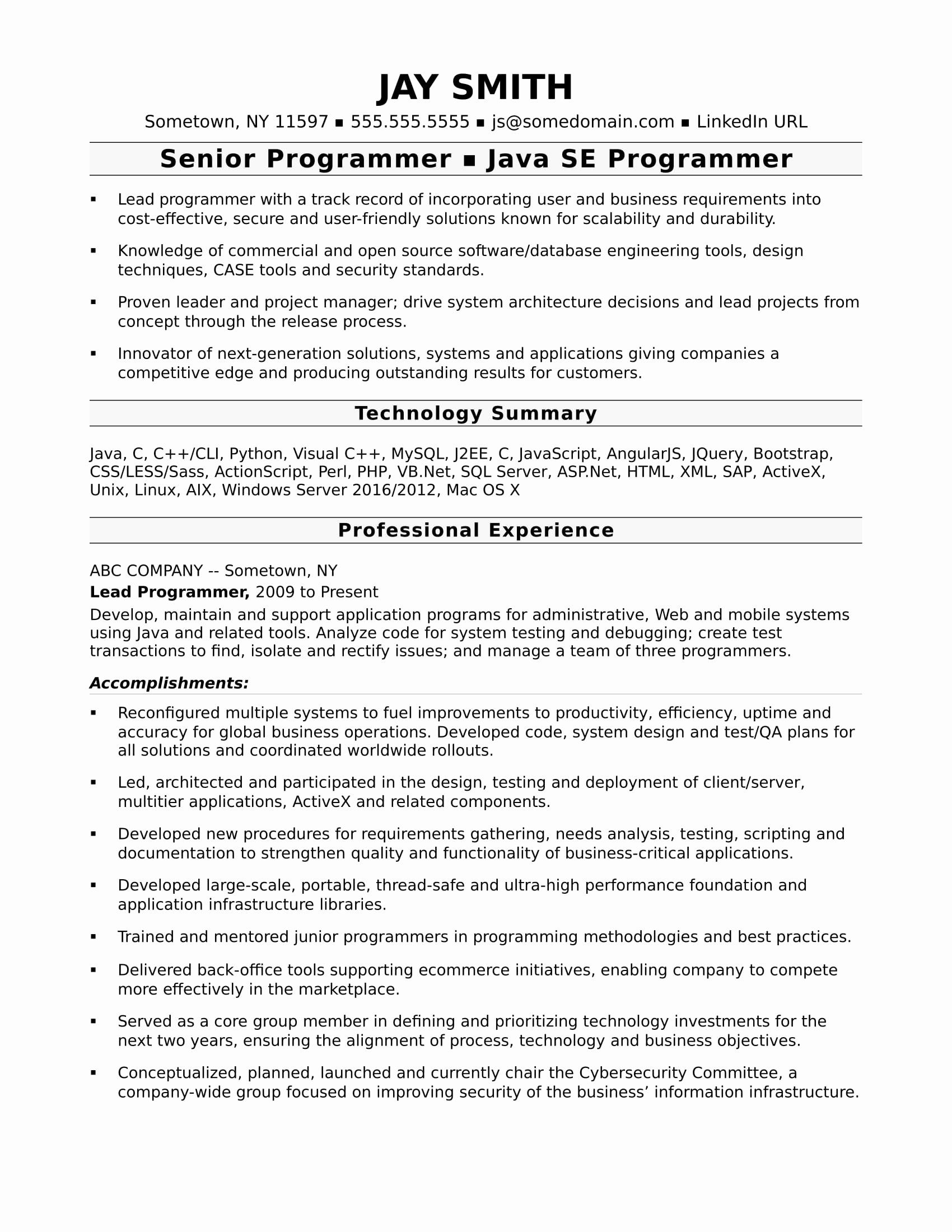 e534a1a2b741881464e4f789aba28354 One Year Experience Resume Format For Android Developer on
