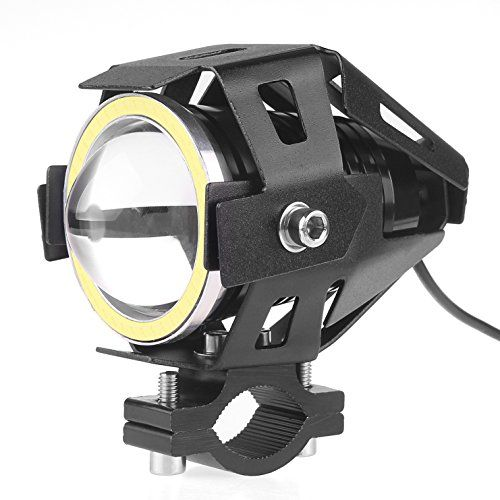 Sunsbell 125w 3000lm Cree U7 Car Motorcycle Led Headlight Spotlight Lamp Driving Fog Lights For Cars Trucks Boa Spotlight Lamp Led Headlights Motorcycle Lights