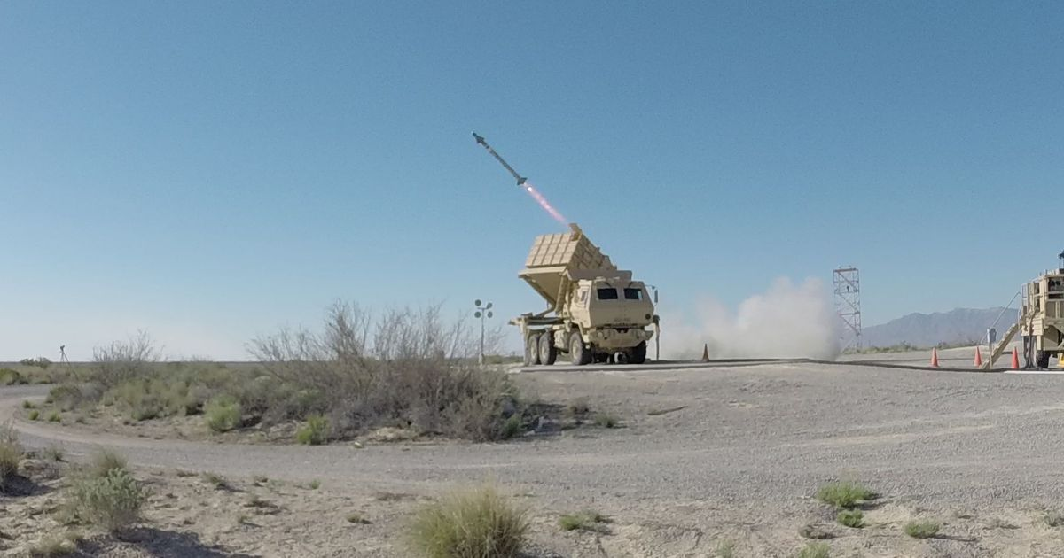 US Armyu0027s Multi-Mission Launcher Defeats Cruise Missile, UAS Threat