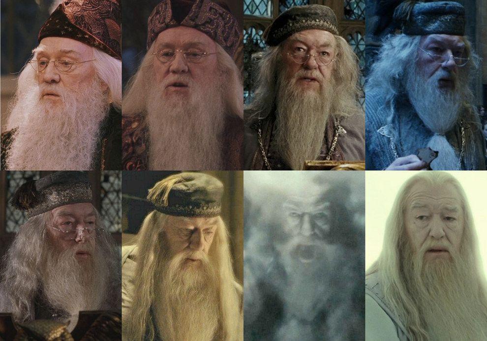 Albus Dumbledore Richard Harris Michael Gambon Harry Potter Actors Harry Potter Cast Harry Potter Universal