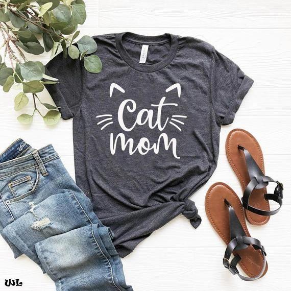 Cat Mom Shirt, Cat Mama, Cat Shirt, Fur Mom Shirt, Pet Mom Shirt, Cat Lover Shirt, fur mama shirt, c