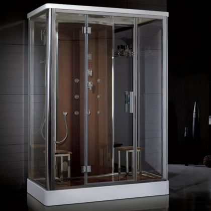I Love These Shower Steam Units With The Built In Radio, And Massage Jets.  Oh So Relaxing!