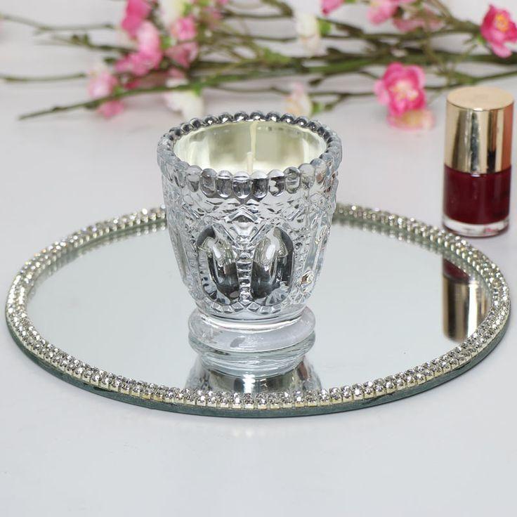 #homedecor  #candle  #candles  #silverdecor  #tealight  #interiordecor  #homestyling  #interiors  #myhome  #vintagedecor  #shabbychicdecor  #homeinteriors  #decorideas #Silver #Candle Small Silver Candle - Melody Maison®