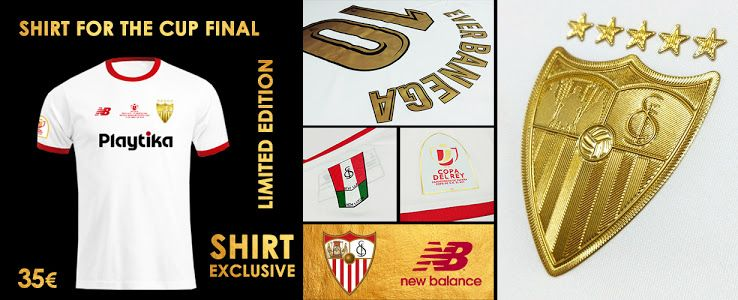 fc77eff5acb Stunning Sevilla 2018 Copa del Rey Final Kit Released - Footy Headlines