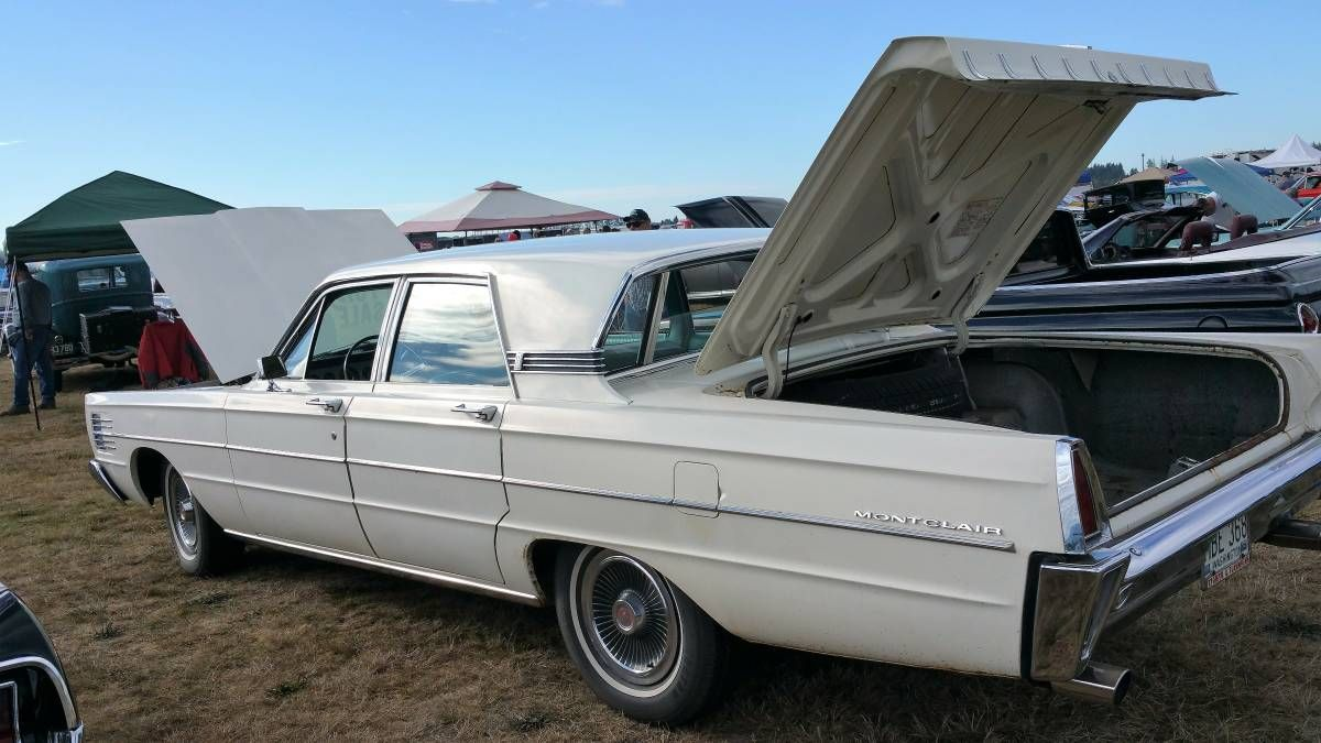 1965 mercury montclair 4 door breezeway sedan sedan