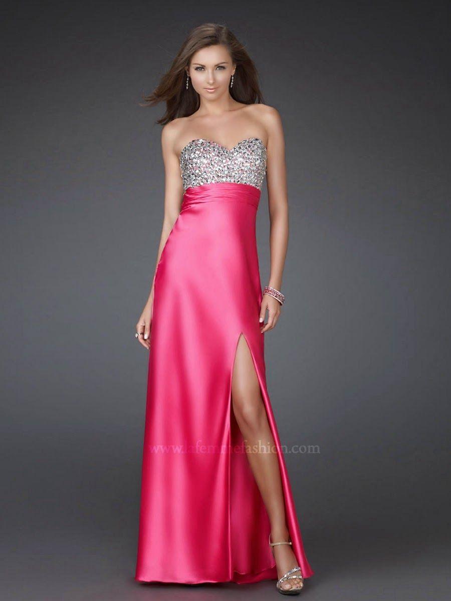 Encantador Www La Femme Vestidos De Moda Com Prom Ideas Ornamento ...