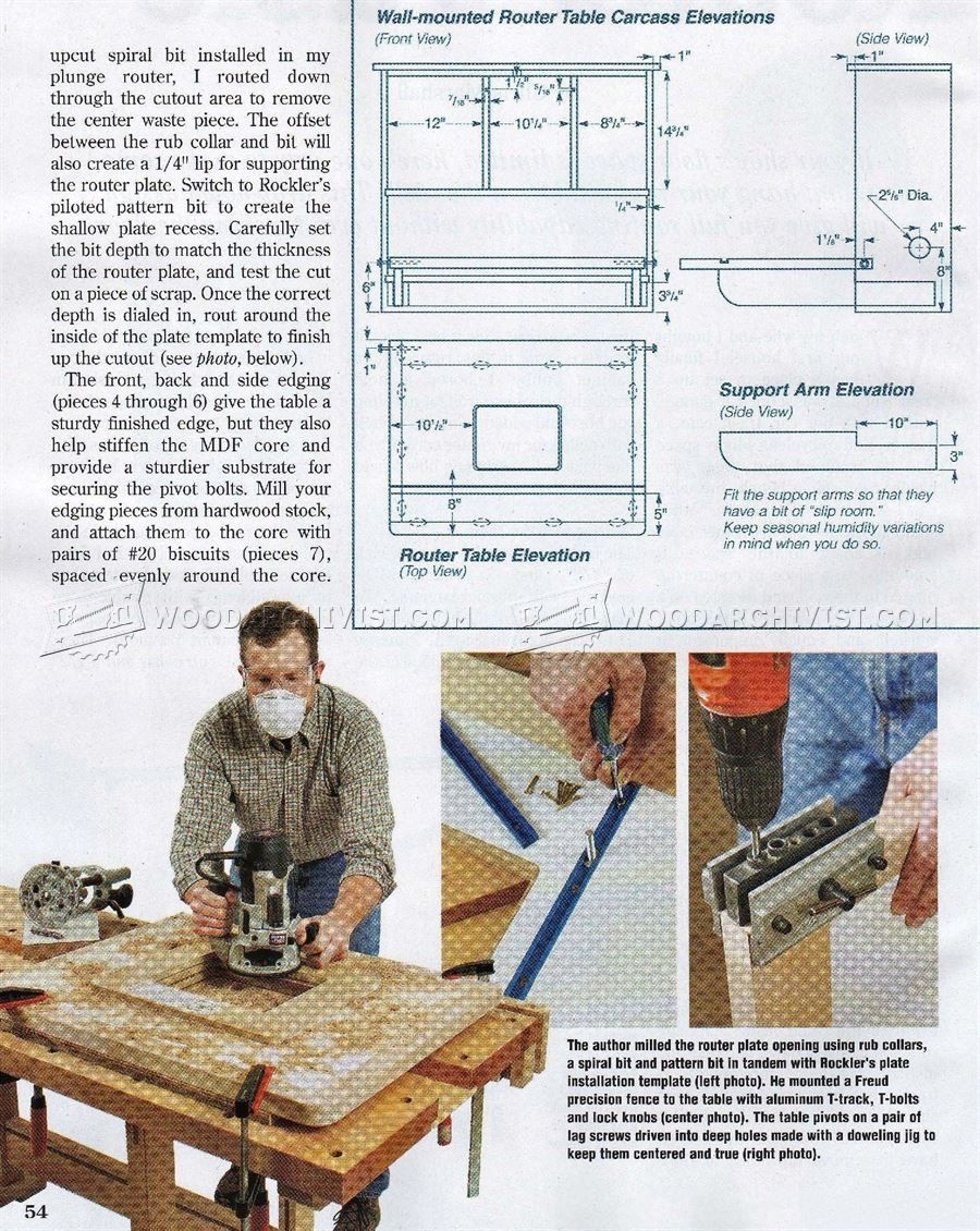Rockler wall mount router table httpbottomunion pinterest wall mounted router table plans woodarchivist in sizing 900 x 1130 rockler wall mount router table mounting a level panel tv on the wall is among those t greentooth Gallery