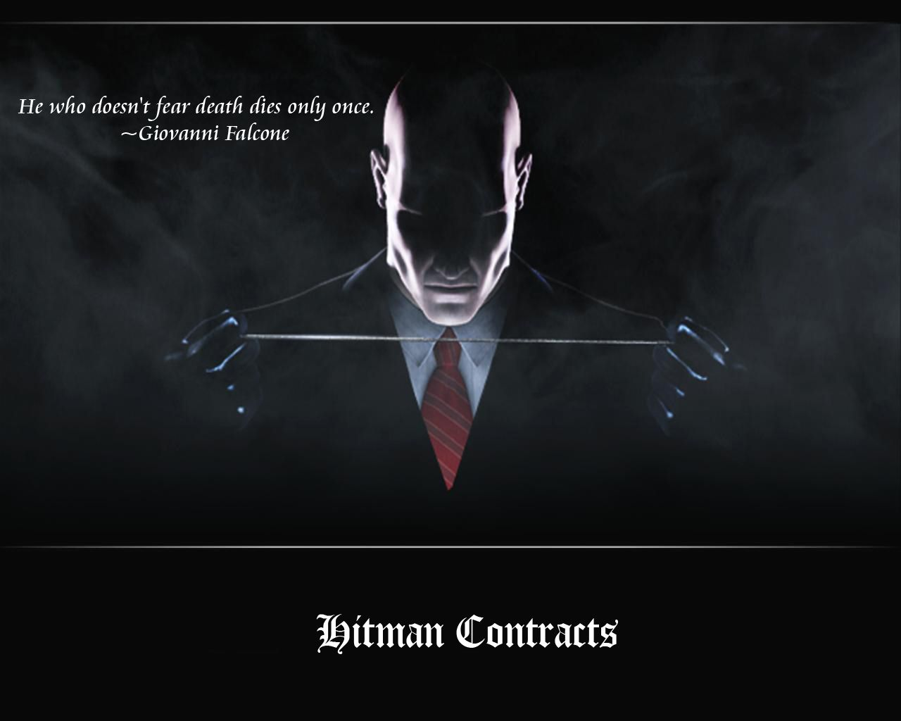 This Is What Hitman Said Read It Agent 47 Agent 47 Wallpaper
