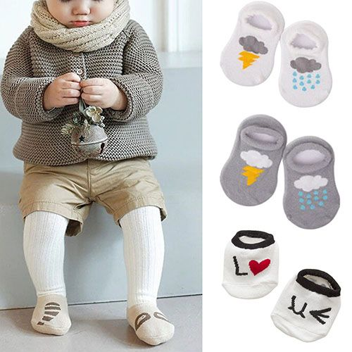 $.79// Baby Socks// Multiple patterns available// Delivery: 2-6 weeks