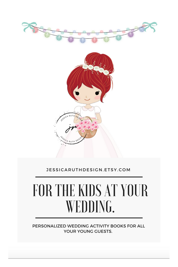 - WEDDING ACTIVITY COLORING BOOKS FOR KIDS! LOTS OF FUN PERSONALIZED