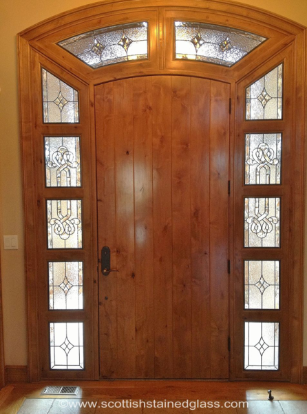 Stunning sidelights for doors entreeways glass window and doors stained glass sidelights kansas city stained glass planetlyrics Image collections