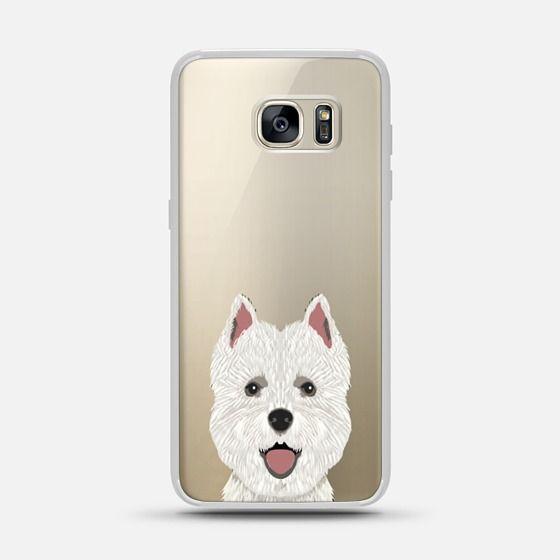 1b6f4dd76b CASETiFY Galaxy S7 Edge Case - Highland Terrier cute puppy dog person gift  idea for terrier