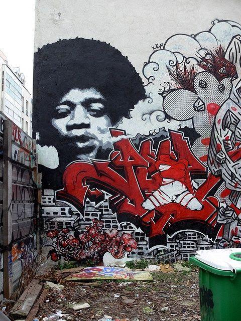 Graffitis-Belleville -Paris20