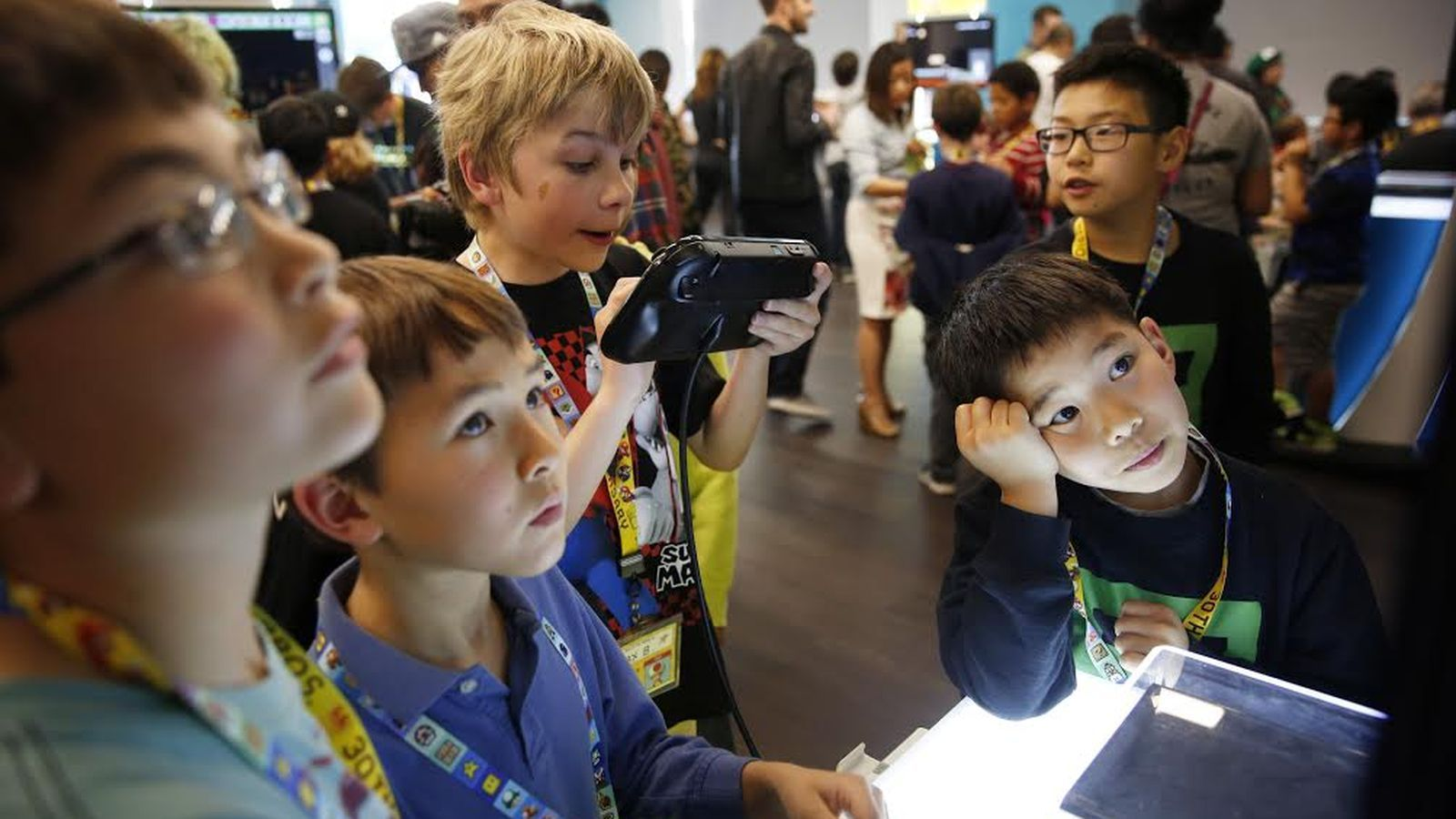 Nintendo partners with SF public library to teach kids about game design | The Verge