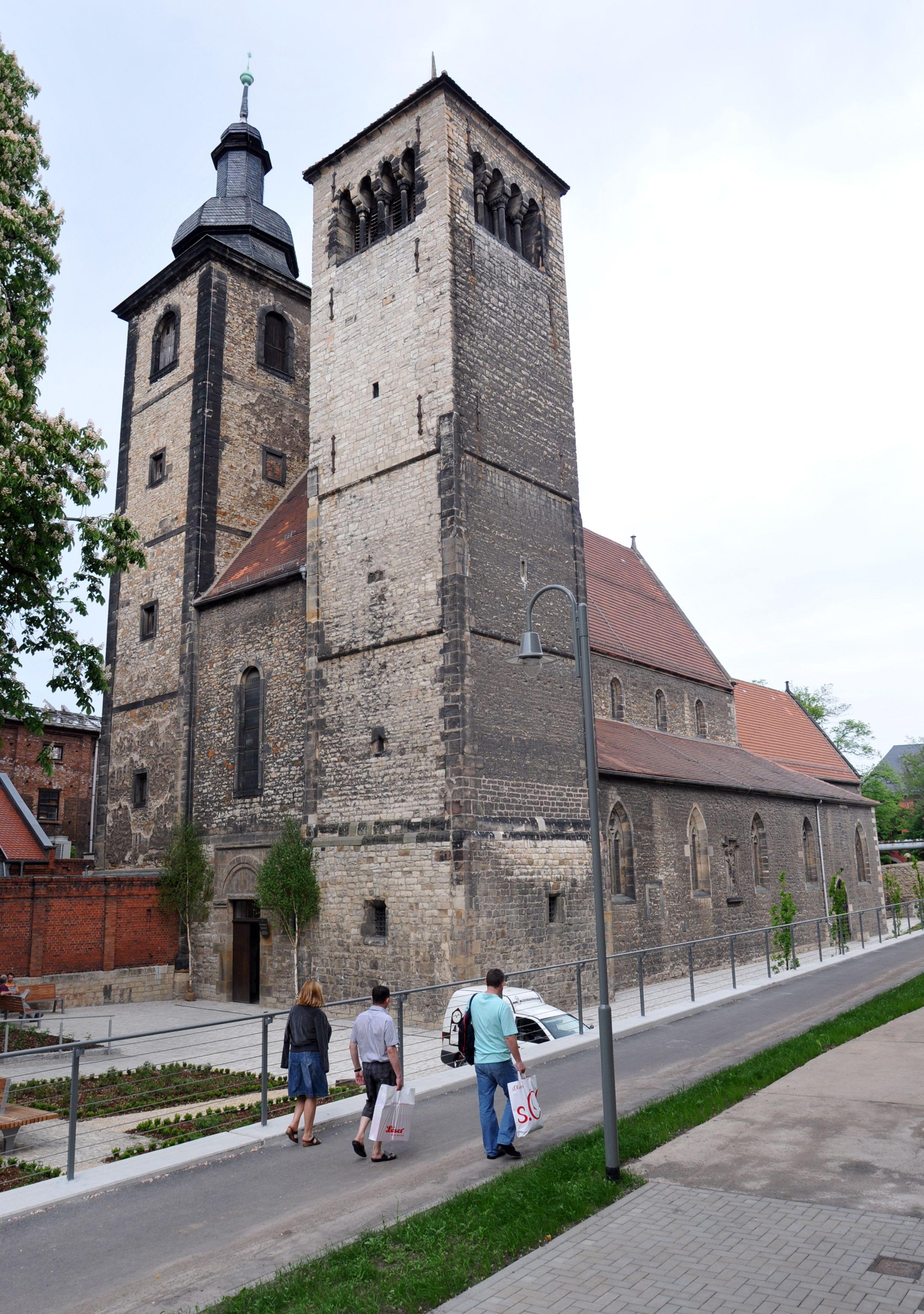 Die Reglerkirche In Erfurt Foto Peter Riecke Erfurt Reisen Thuringen