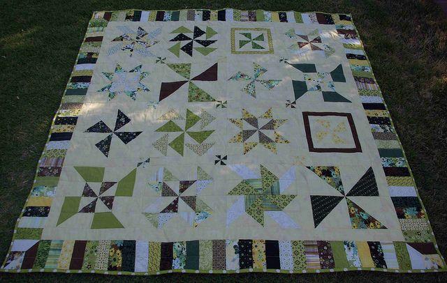 Pinwheel Sampler Quilt Along  psiquilt.com
