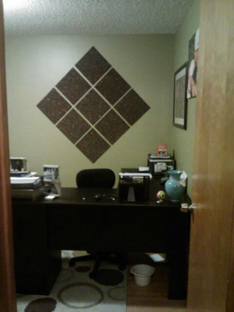 Cork board for the office! Joann Fabrics 30 (with 20