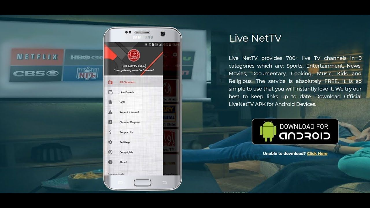 NEW UPDATE Live NetTV FOR ANDROID 2018 | Android computer