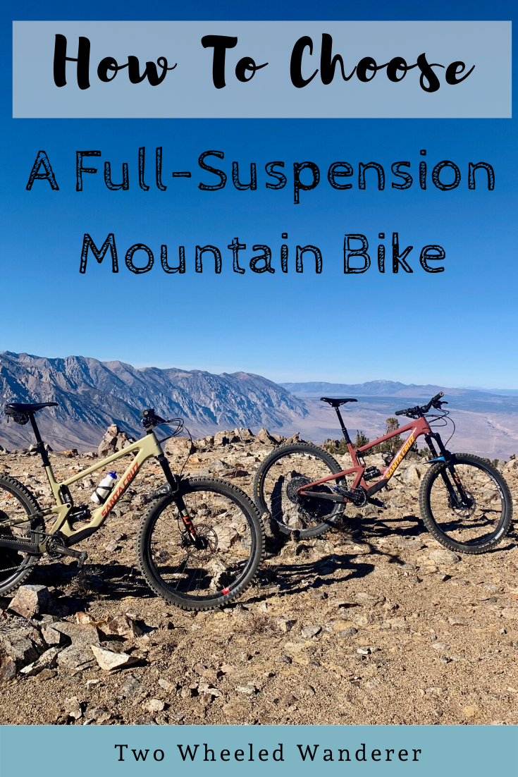 How To Choose A Full Suspension Mountain Bike In 2020 Full