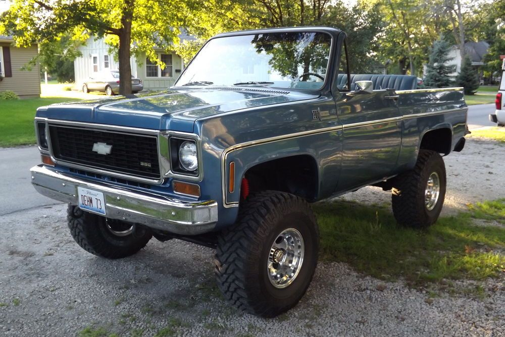 Chevrolet : Blazer Cheyenne | Bad A$$ Chevy K5 Blazers