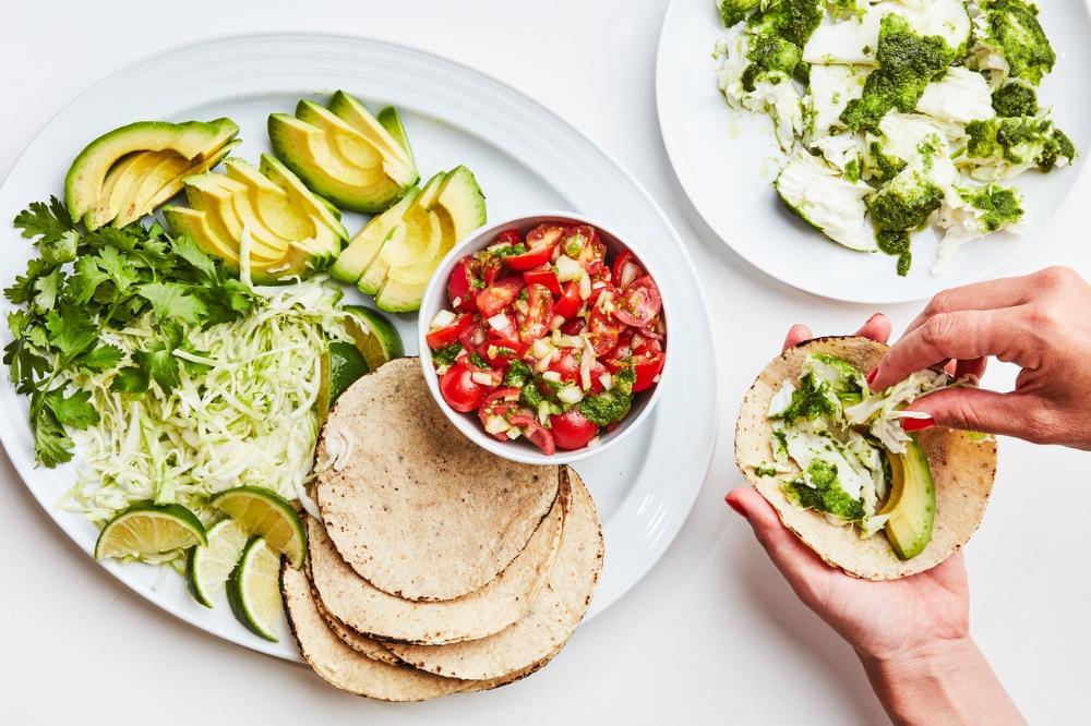 Family Style Fish Tacos Recipe With Images Taco Recipes Food Processor Recipes Tacos
