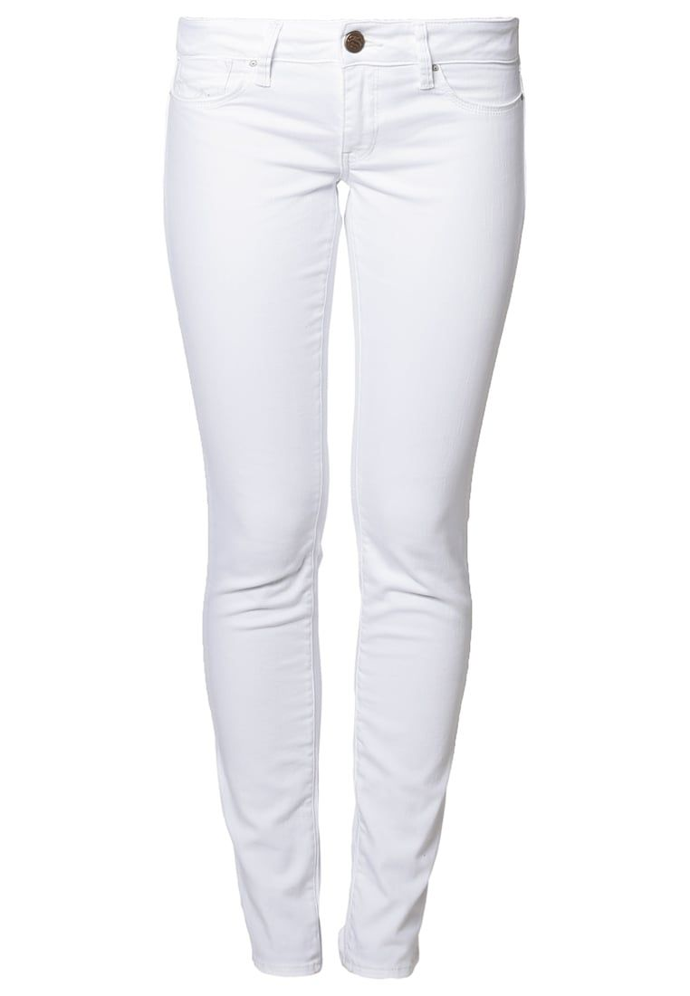 58dcb5fabce550 Mavi LINDY - Slim fit jeans - white for £59.99 (22/01/18) with free  delivery at Zalando
