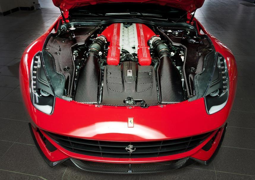 Ferrari F12 Berlinetta Engine Bay Kit by Revozport   Tuning World ...