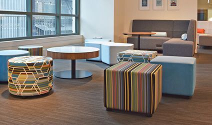 National Furniture | Whimsy Impromptu Seating | NeoCon 2015 ...