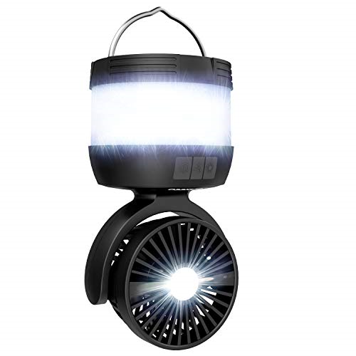 USB Rechargeable LED Camping Light Tent Lantern Bright Night Lamp Outdoor