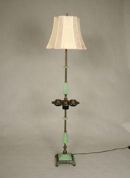Vintage Art Deco Smokers Floor Lamp C 1930 Traditional Floor Lamps Floor Lamp Lamp