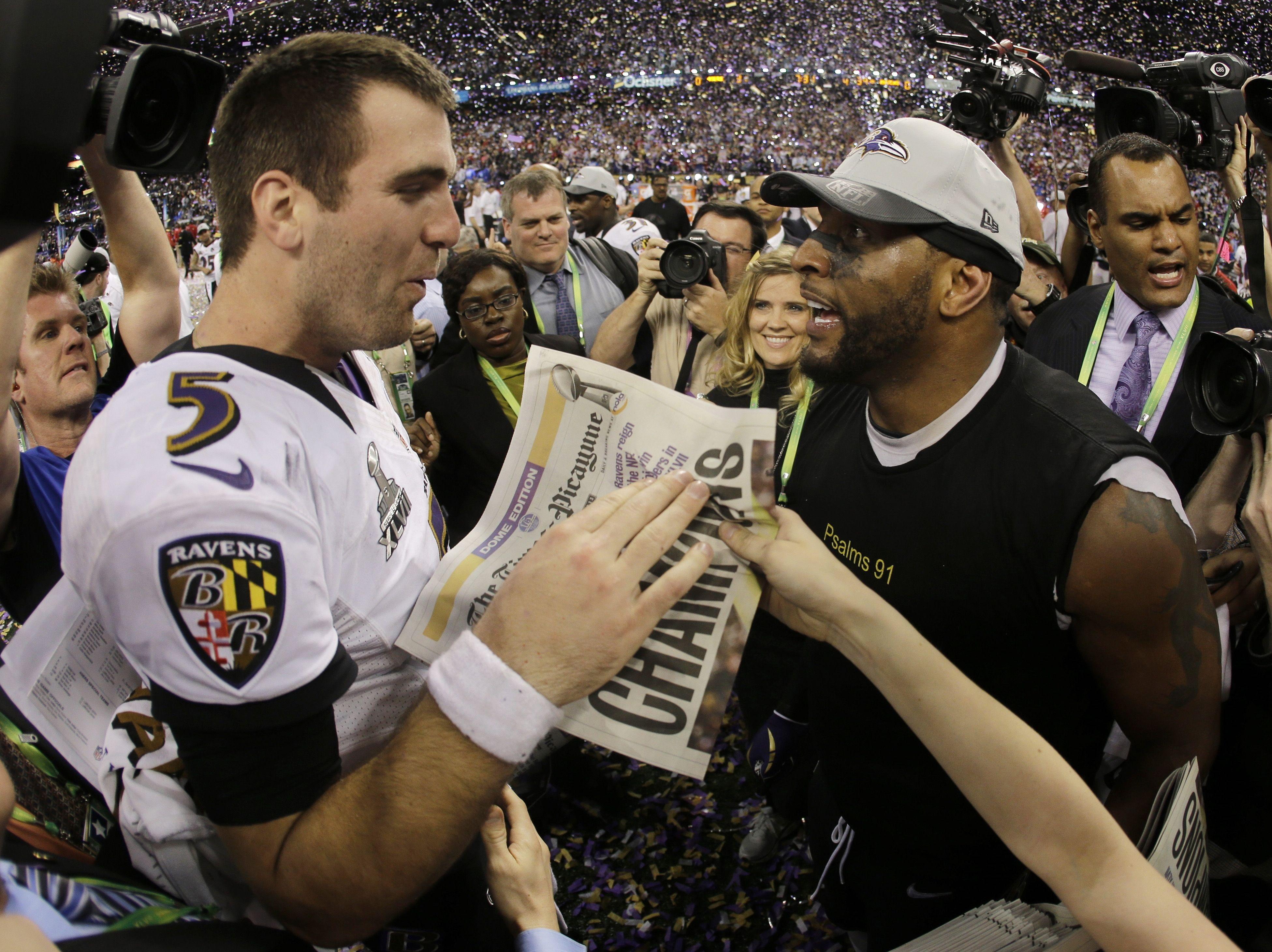 the best attitude 56997 747e0 Super Bowl 47 MVP Player Joe Flacco | SUPERBOWL XLVII ...