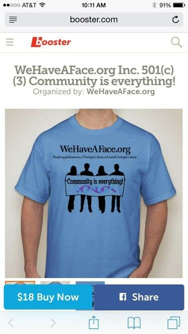 T-SHIRTS  for our 1st annual hd / jhd community walk!