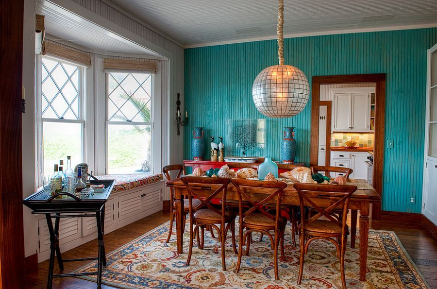 Blue Dining Rooms: 18 Exquisite Inspirations, Design Tips ...