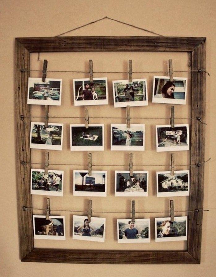 Fabriquer Un Cadre Photo 60 Idees Pour Un Objet A Valeur Sentimentale Diy Picture Frames Homemade Picture Frames Diy Photo Frame