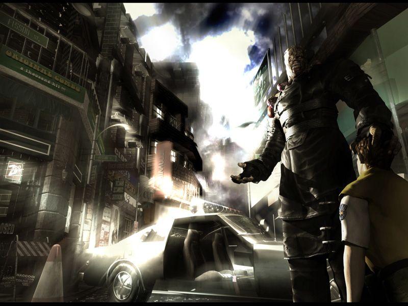 Resident Evil Concept Art Resident Evil 3 Nemesis Concept Art