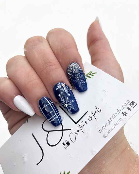 Photo of Spezielle Nail Art Designs, die Ihre Winterstimmung anregen – Nageldesign & Nailart