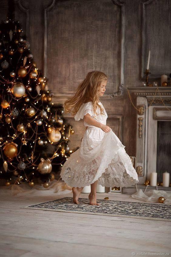 Зимняя сказка   Фото маленьких девочек, Рождественские ...
