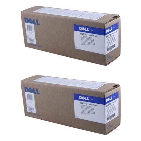 Black Dell MW558 1720 1720DN Toner Cartridge