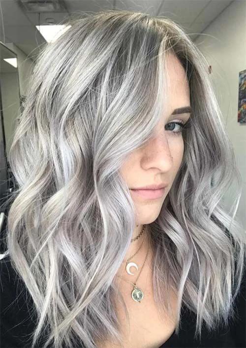 Perücken für weiße Frauen Bartwäsche für graues HaarPremature White Hair - ...#bartwäsche #frauen #für #graues #haarpremature #hair #perücken #weiße #white